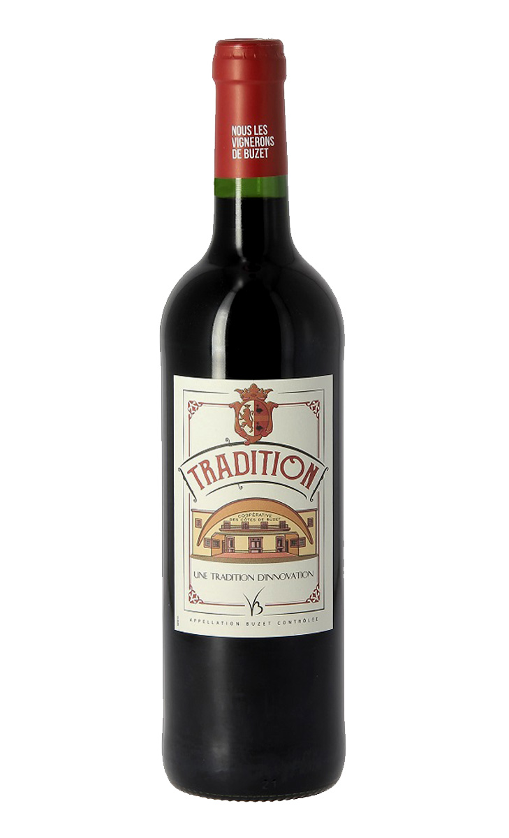 Tradition rouge 0,75 ltr.