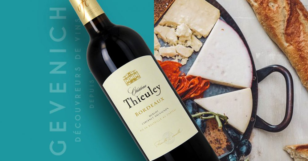 Chateau Thieuley rouge 0,75 ltr.